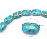 Copper Turquoise Gemstone Beads