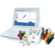 Cardiograph,  doppler,  encephalograph,  miograph,  rheograph,  Edinburgh