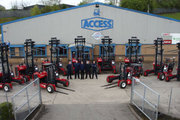 Get the best forktruck attachments at 'Access'